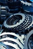 enhetsbilkugghjul Arkivbild