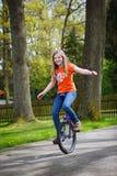enhjuling Arkivfoto