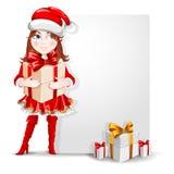 Enhorabuena de la Navidad Foto de archivo