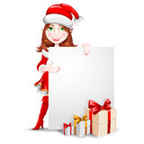 Enhorabuena de la Navidad Fotografía de archivo