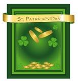 Enhorabuena del día del St. Patrick Imagenes de archivo