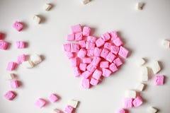 Enhorabuena el día de la tarjeta del día de San Valentín s Fotos de archivo