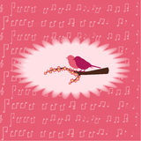 Enhorabuena en las flores Fotos de archivo libres de regalías
