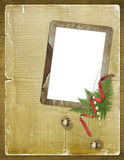 Enhorabuena a la Navidad o al nuevo yea Imagen de archivo libre de regalías