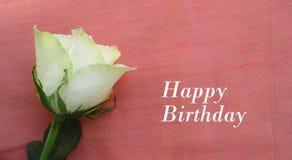 Enhorabuena para el feliz cumpleaños Imágenes de archivo libres de regalías