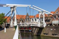 Enhuizen桥梁 免版税库存照片