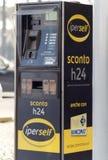 ENI Agip benzynowa stacja Obraz Royalty Free