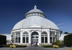 Enid A Conservatoire de Haupt au jardin botanique de Bronx Photos stock