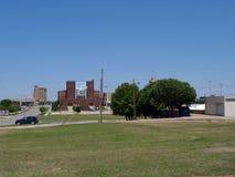 Enid du centre, architecture de l'Oklahoma photos libres de droits