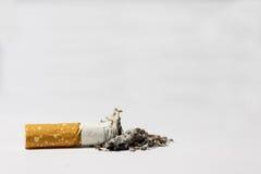 Enig sigaretuiteinde royalty-vrije stock foto