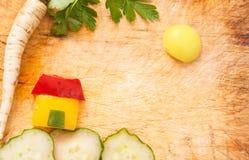 Enig skönhet av grönsaker Arkivbilder