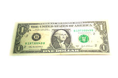 Enig stat av Amerika en dollar sedlar Fotografering för Bildbyråer