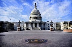 Enig statlig Capitolbyggnad royaltyfria bilder