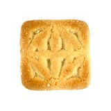 Enig vierkant koekje Stock Foto