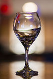 Enig wijnglas Stock Afbeelding
