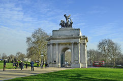 Eniga Kungarike-London arkivbilder