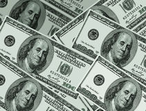 Eniga statliga dollar. Bakgrund Royaltyfri Fotografi
