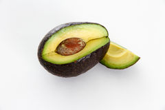 Enige Avocado Royalty-vrije Stock Foto