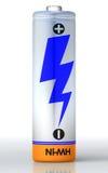 Enige batterij Stock Foto's