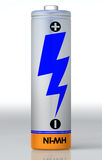 Enige batterij Royalty-vrije Stock Fotografie