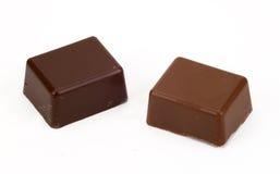 Enige Chocolade Royalty-vrije Stock Afbeeldingen