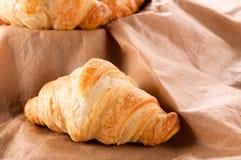 Enige Croissant Royalty-vrije Stock Fotografie