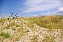 Enige fiets Royalty-vrije Stock Foto's