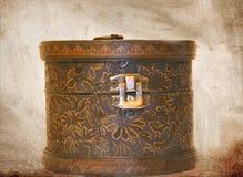 Enige houten doos Royalty-vrije Stock Foto's