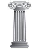 Enige Ionische Kolom Royalty-vrije Stock Afbeeldingen