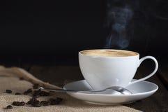 Enige kop van koffie Royalty-vrije Stock Foto's