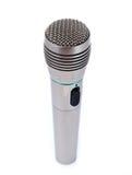 Enige microfoon Royalty-vrije Stock Foto's
