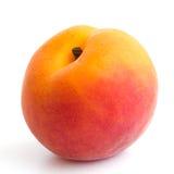 Enige rijpe abrikoos Stock Afbeelding