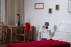Enige ruimte in het huis royalty-vrije stock afbeelding