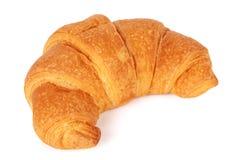Enige verse croissant royalty-vrije stock afbeelding