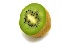 Enige verse halve kiwi Royalty-vrije Stock Fotografie