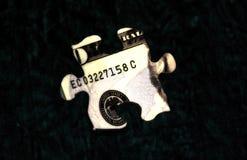 Enigma 1 do dinheiro foto de stock