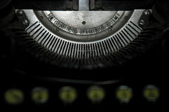 Enigma 3. An onld typewriter Stock Photography