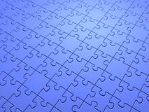 Enigma azul foto de stock royalty free