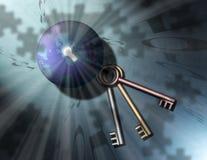 Enigma binário da terra Fotografia de Stock Royalty Free