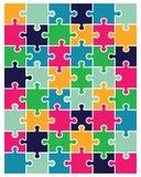 Enigma brilhante colorido Fotos de Stock