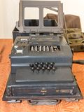 The Enigma Cipher Machine from World War II. The Enigma Cipher Coding Machine from World War II Royalty Free Stock Images