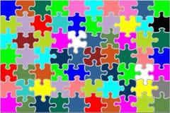 Enigma colorido cheio Imagens de Stock