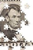Enigma com partes faltantes Imagens de Stock Royalty Free