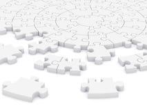 enigma da circular 3D Imagens de Stock