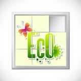Enigma de Eco ilustração stock