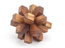 Enigma de madera Foto de archivo libre de regalías