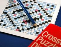 Enigma de palavras cruzadas Foto de Stock Royalty Free