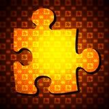 Enigma de serra de vaivém Imagens de Stock