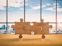 Enigma de serra de vaivém marrom vazio Imagem de Stock Royalty Free