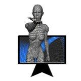 Enigma del PC Immagine Stock Libera da Diritti